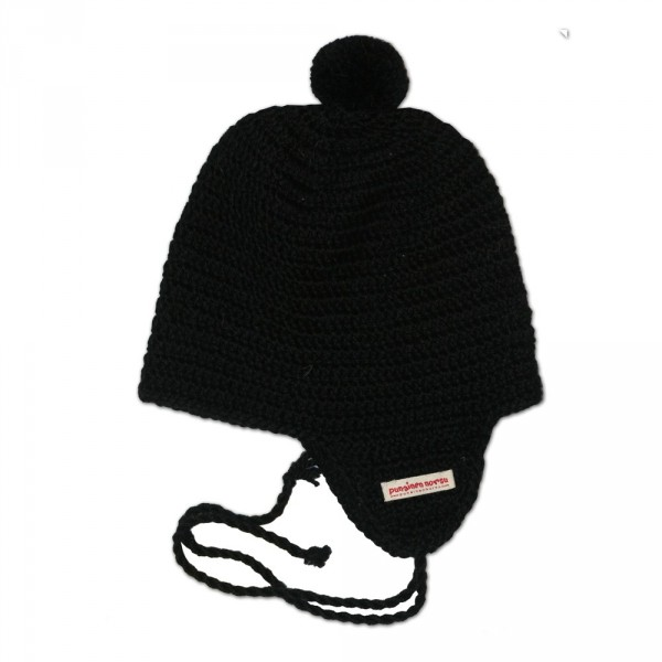 Alpaca -hat, 2-6y, black
