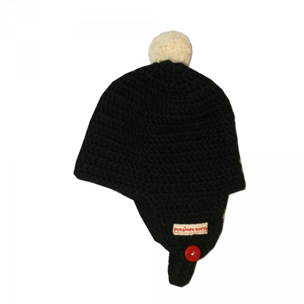 Alpaca -hat, 0-6m, black
