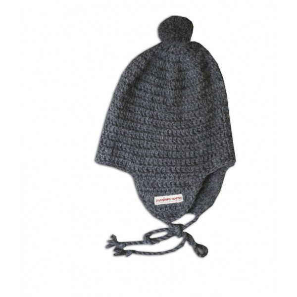 Alpaca -hat, grey