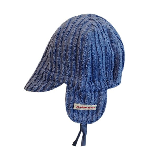 Mini cap, lila stripe