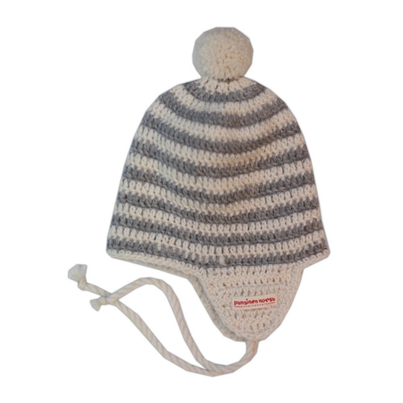 Alpaca -hat, 2-6y, grey