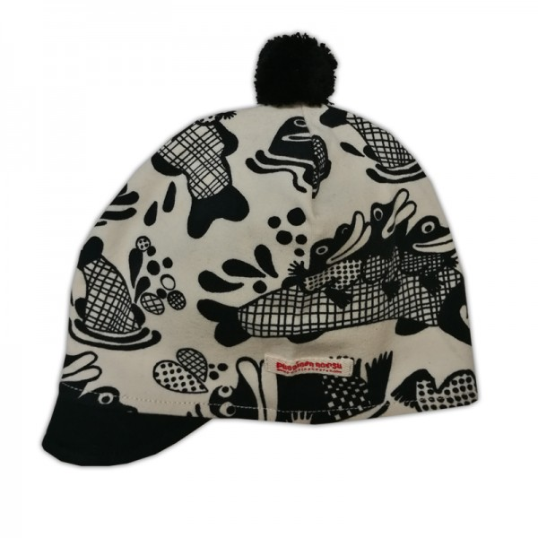 Mister Pike cap with pompom