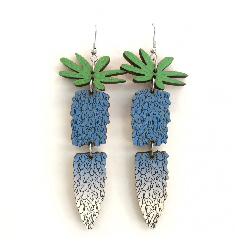 Lupine, earrings