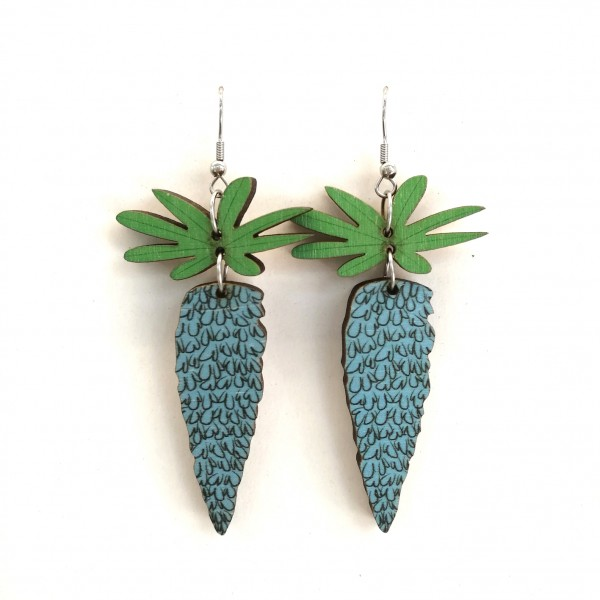 Mini Lupine, earrings