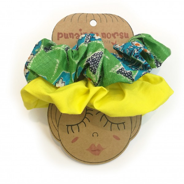 Scrunchies 2 pcs - Summer duo