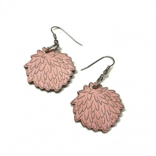 Clover flower, earrings
