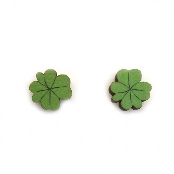 Clover, earrings
