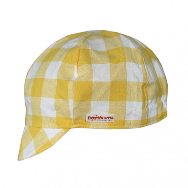Cap, Yellow check