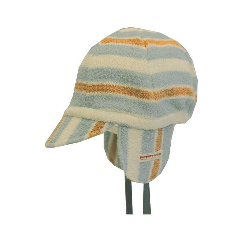 Mini cap, blue stripe