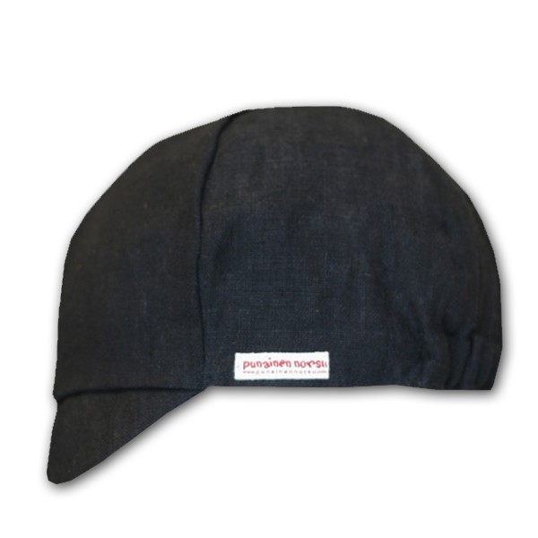 Cap black european hemp